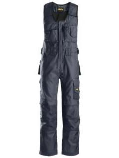 Snickers 0312 Craftsmen, One-piece Trousers DuraTwill - Navy