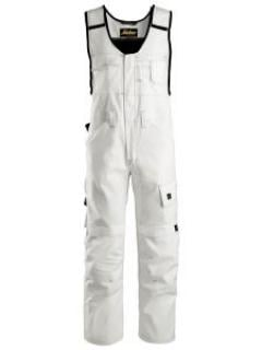 Snickers 0375 Painter's One-piece - White
