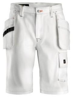 Snickers 3075 Painter's Shorts with Holster Pockets - White