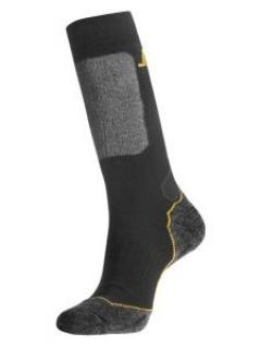 Snickers 9203 Wool Mix High Socks - Black/Grey