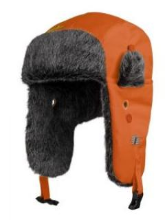 Snickers 9029 RuffWork, High-Vis Pilot Hat - High viz Orange