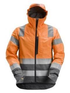 Snickers 1330 AllroundWork, High-Vis Waterproof Shell Jacket, Class 3