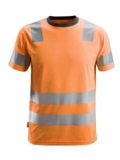 Snickers 2530 AllroundWork, High-Vis T-Shirt, Class 2