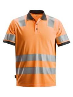 Snickers 2730 AllroundWork, High-Vis Polo Shirt, Class 2 - High Vis Orange