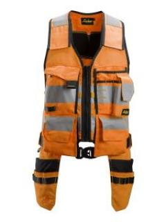 Snickers 4230 AllroundWork, High-Vis Toolvest, Class 1