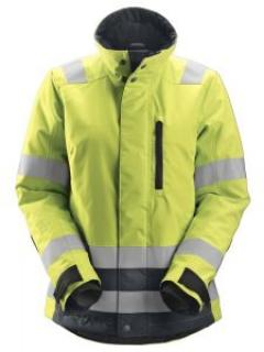 Snickers 1137 AllroundWork, Women's High-Vis 37.5® Insulating Jacket, Class 2/3 - High Vis Yellow