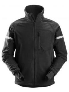 Snickers 8005 AllroundWork, Windproof Fleece Jacket - Black