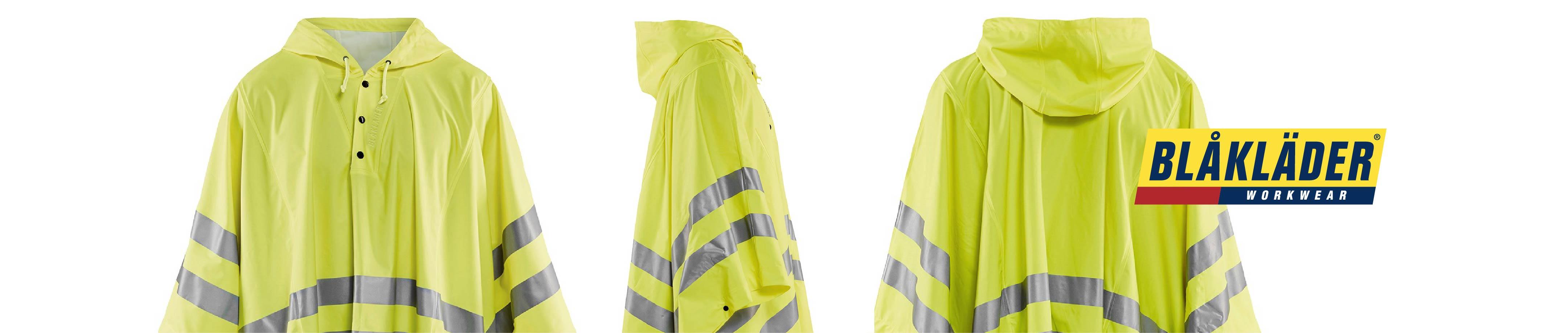 High vis rainwear