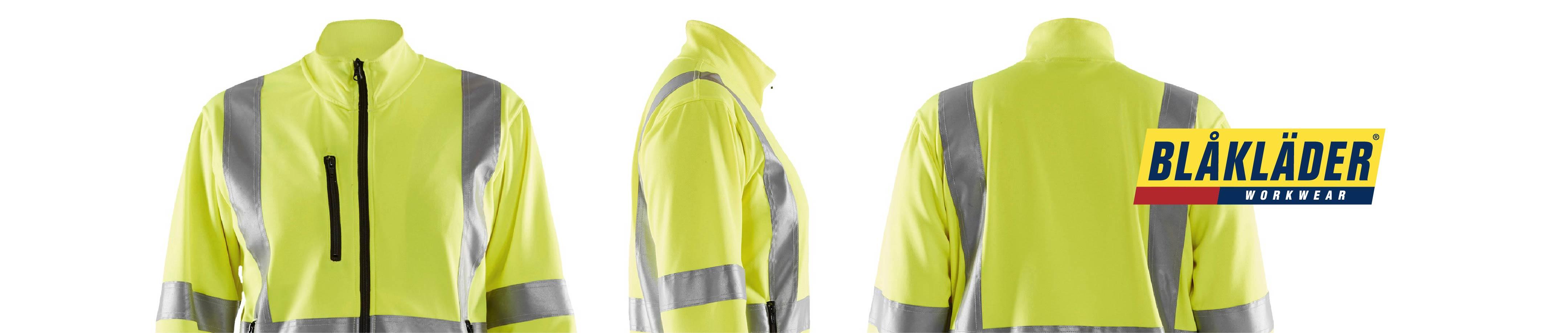 High vis work vests