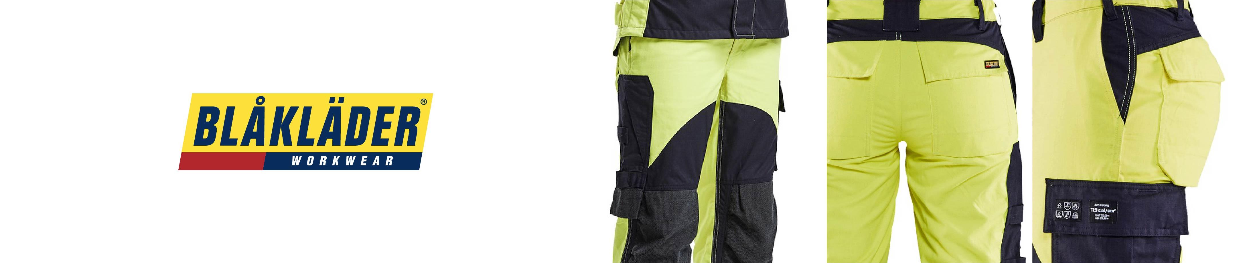 Flame retardant work trousers