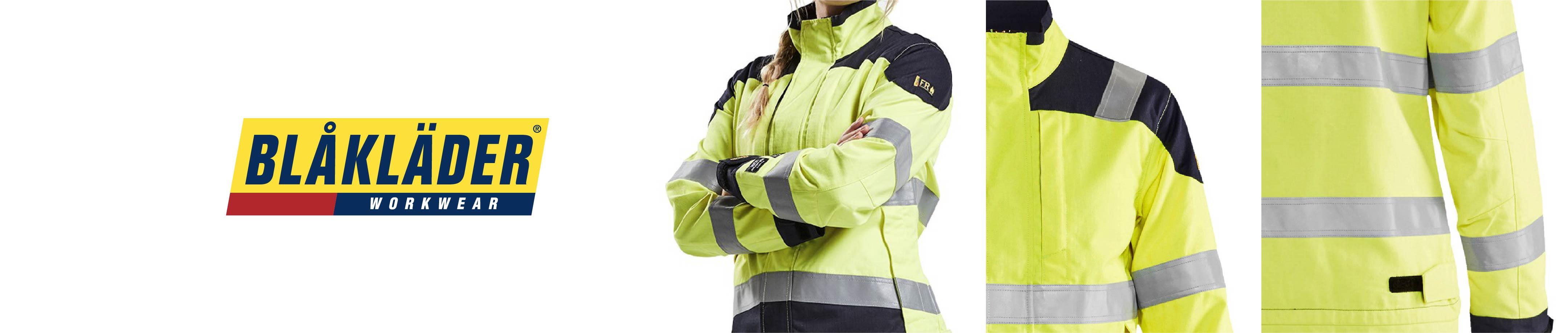 Flame retardant work jackets