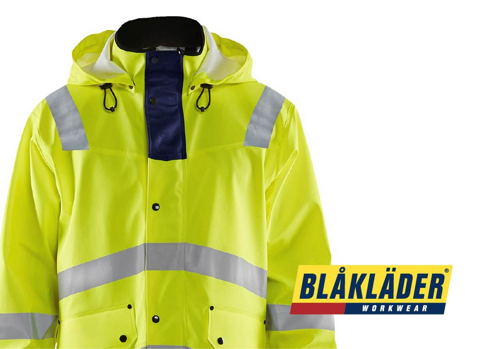 High vis rainwear