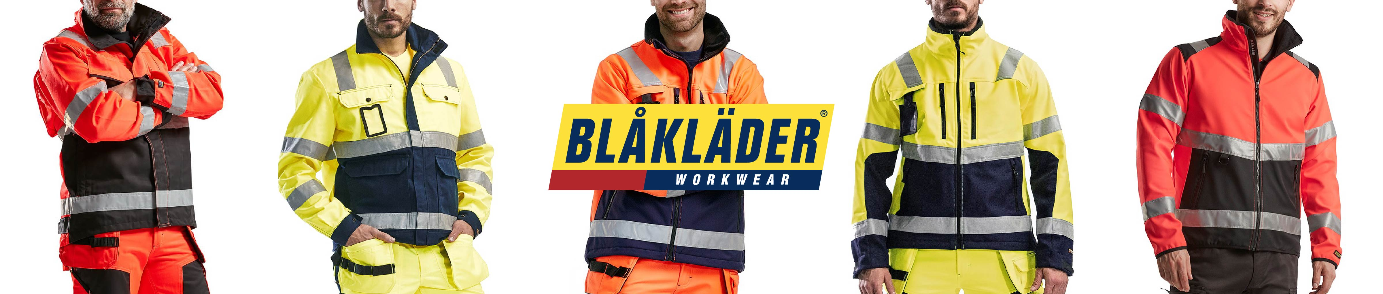 High vis work jackets