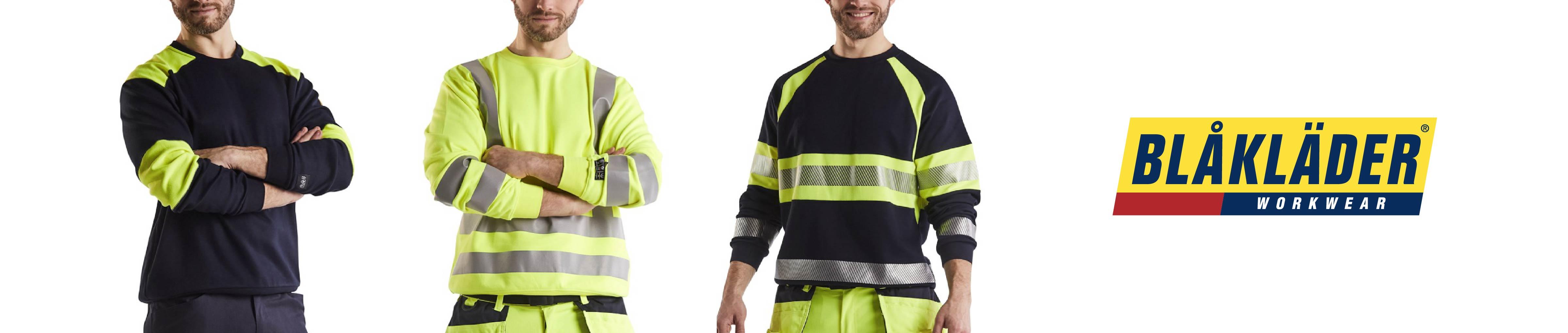 Flame retardant work sweaters
