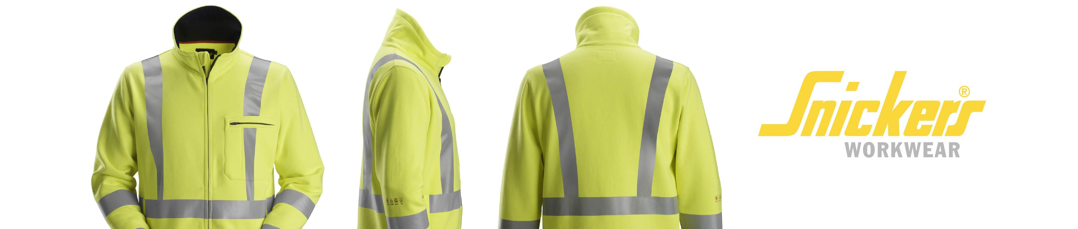 Flame retardant work vests