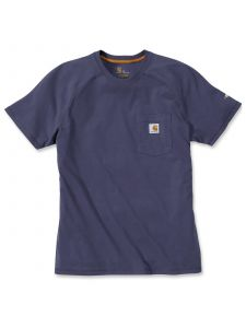 Carhartt 100410 Force T-Shirt Cotton s/s - Carbon Heather