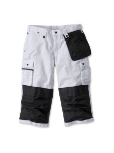 Carhartt 100455 Sale: Multipocket Ripstop Pirate Pant - White