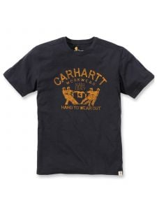 Carhartt 102097 Maddock Hard To Wear Out s/s T-Shirt - Black