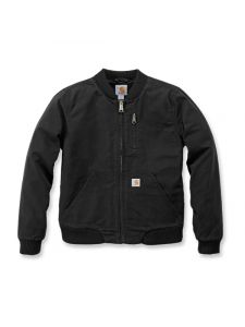 Carhartt 102524 Crawford Bomber Jacket - Black