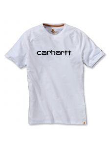 Carhartt 102549 Force® Cotton Delmont Graphic s/s T-Shirt - White