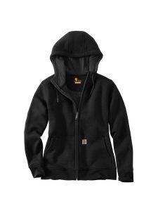 Carhartt 102788 Clarksburg Full Zip Hoodie - Black