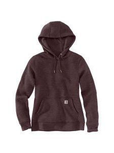 Carhartt 102790 Women's Clarksburg Pullover Sweatshirt - Fudge