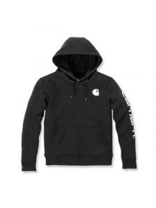 Carhartt 102791 Clarksburg l/s Hooded Sweatshirt - Black
