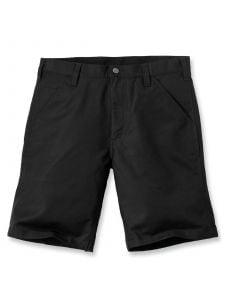 Carhartt 103111 Rugged Professional Stretch Canvas Short - Black