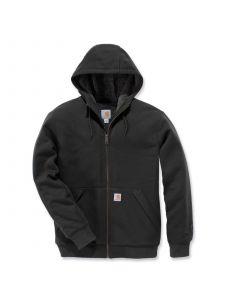 Carhartt 103308 Sherpa Lined Midweight Full Zip Sweatshirt - Peat