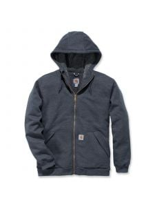 Carhartt 103308 Sherpa Lined Midweight Full Zip Sweatshirt - Carbon Heather