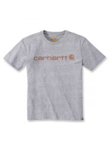 Carhartt 103592 Women's Logo T-Shirt s/s - Heather Grey