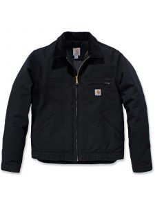 Carhartt 103828 Duck Detroit Jacket - Black