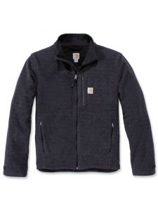 Carhartt 103832 Dalton Full Zip Fleece - Black Heather