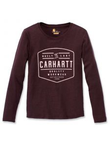 Carhartt 103929 Lockhart Graphic l/s T-Shirt - Fudge Heather