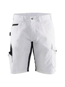 Blåkläder 1094-1330 Painter Shorts Stretch - White