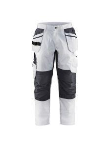 Blåkläder 1096-1330 Painter Trouser Stretch with Holster Pockets - White
