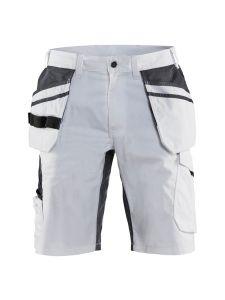 Blåkläder 1099-1330 Painter Shorts Stretch - White