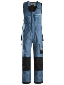 Snickers 0312 Craftsmen, One-piece Trousers DuraTwill - Ocean Blue