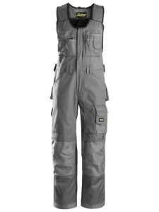 Snickers 0312 Craftsmen, One-piece Trousers DuraTwill - Grey