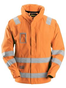 Snickers 1973 Jacket High-Vis, Class 3 Waterproof - High Vis Yellow