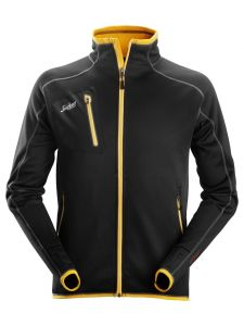 Snickers 8015 Jacket A.I.S.Fleece, Body Mapping - Black