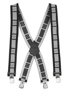 Snickers 9050 Elastic Braces - Black/Grey