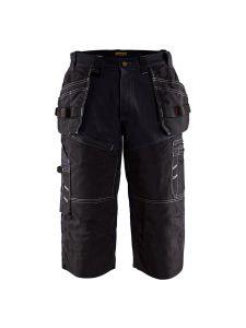 Blåkläder 1501-1310 Craftsman Pirate Shorts - Black