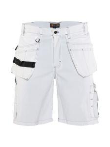 Blåkläder 1536-1210 Painter Shorts - White
