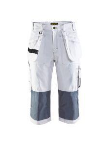 Blåkläder 1540-1210 Painter Pirate Shorts - White