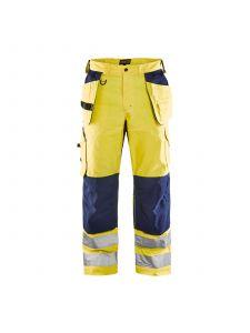 Ventilated High Vis Trousers 1565 High Vis Geel/Marine - Blåkläder