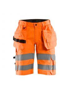Highvis Shorts With Stretch 1586 High Vis Oranje - Blåkläder