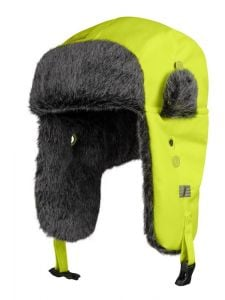 Snickers 9029 RuffWork, High-Vis Pilot Hat - High Vis Yellow