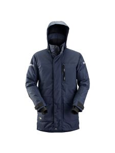 Snickers 1800 AllroundWork, Waterproof 37.5® Insulated Parka - Navy