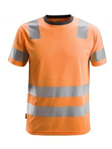 Snickers 2530 AllroundWork, High-Vis T-Shirt, Class 2